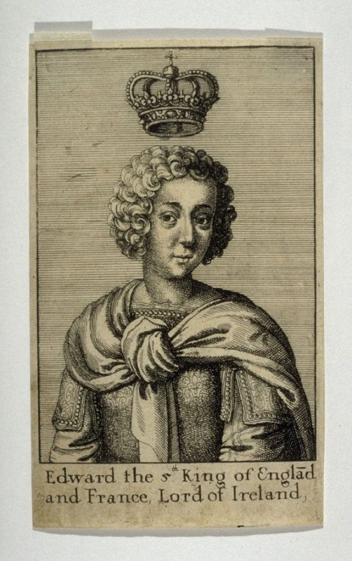 Edward the 5th King of England and France, Lord of Ireland