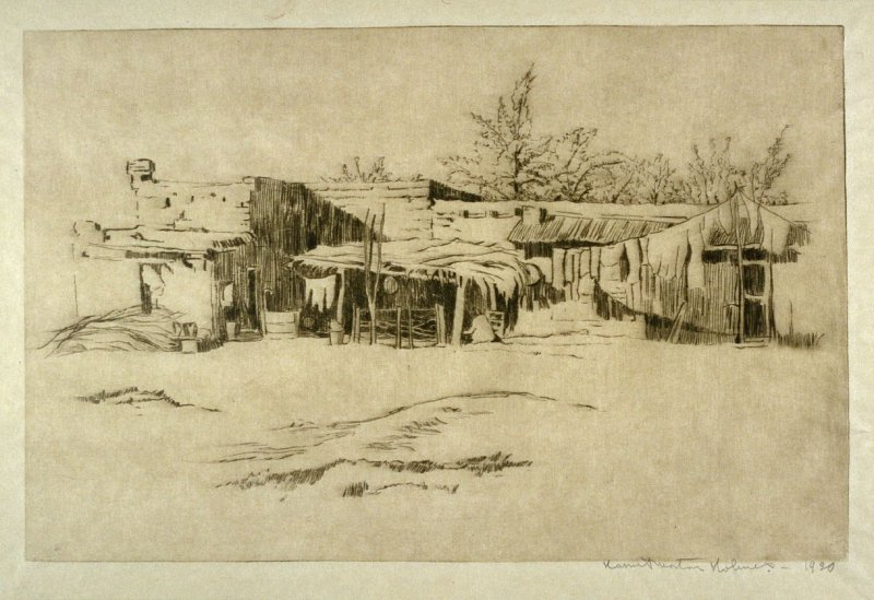 Mexican Adobe Houses