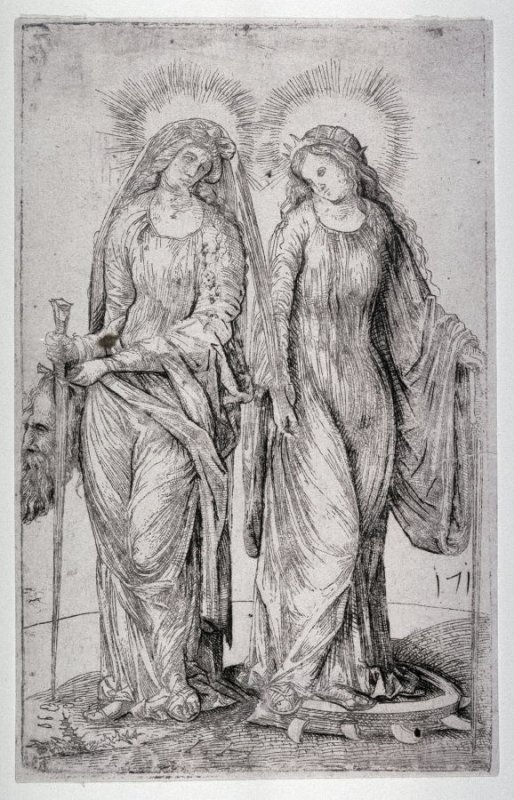 Judith and St. Catherine