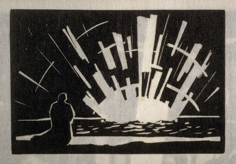 Hymn to the Sun, eighth plate in the book Block Prints (Los Angeles: privately printed, 1932)
