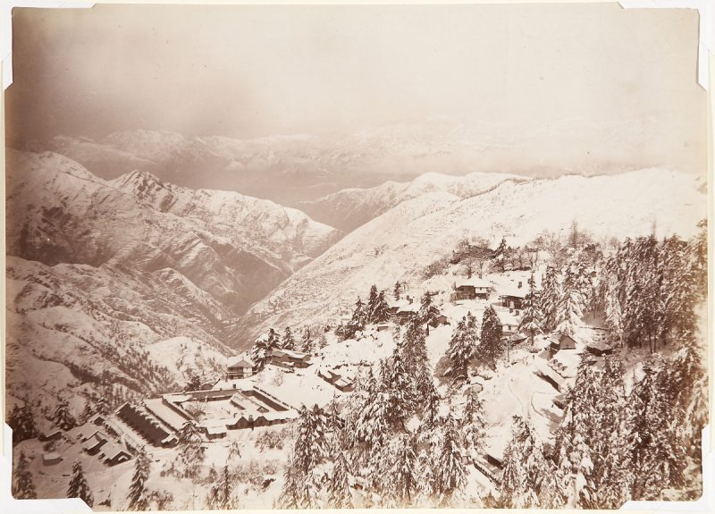 Simla, Showing the Jail in the Snow