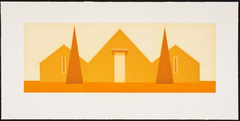 Untitled (Ochre House)