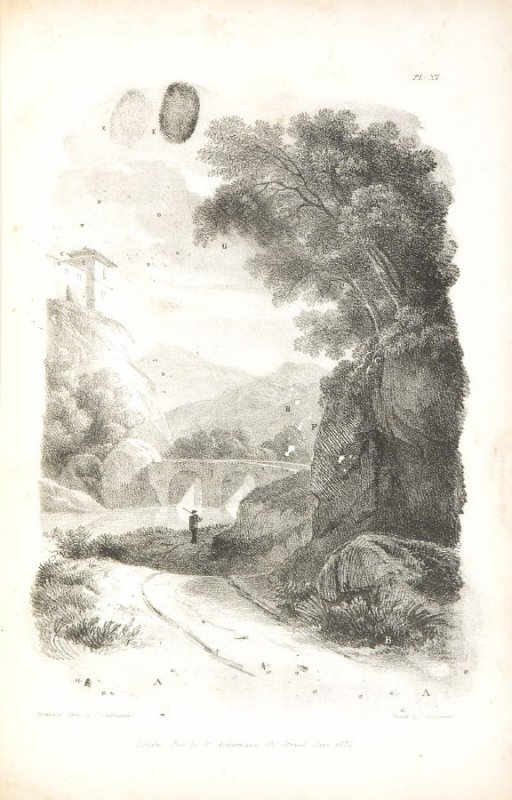 Pl. 11 in the book, The Art of Drawing on Stone (London: C. Hullmandel & R. Ackermann, [1824]