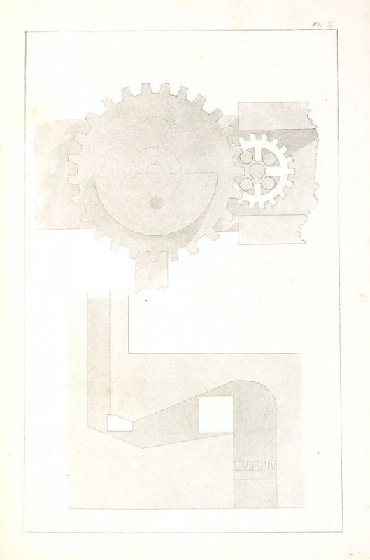 Pl. 10 in the book The Art of Drawing on Stone by C. Hullmandel (London: C. Hullmandel & R. Ackermann, [1824]
