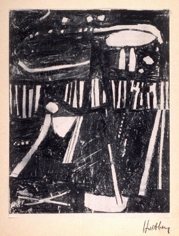 """Untitled (fourteenth print in """"Drawings"""")"""
