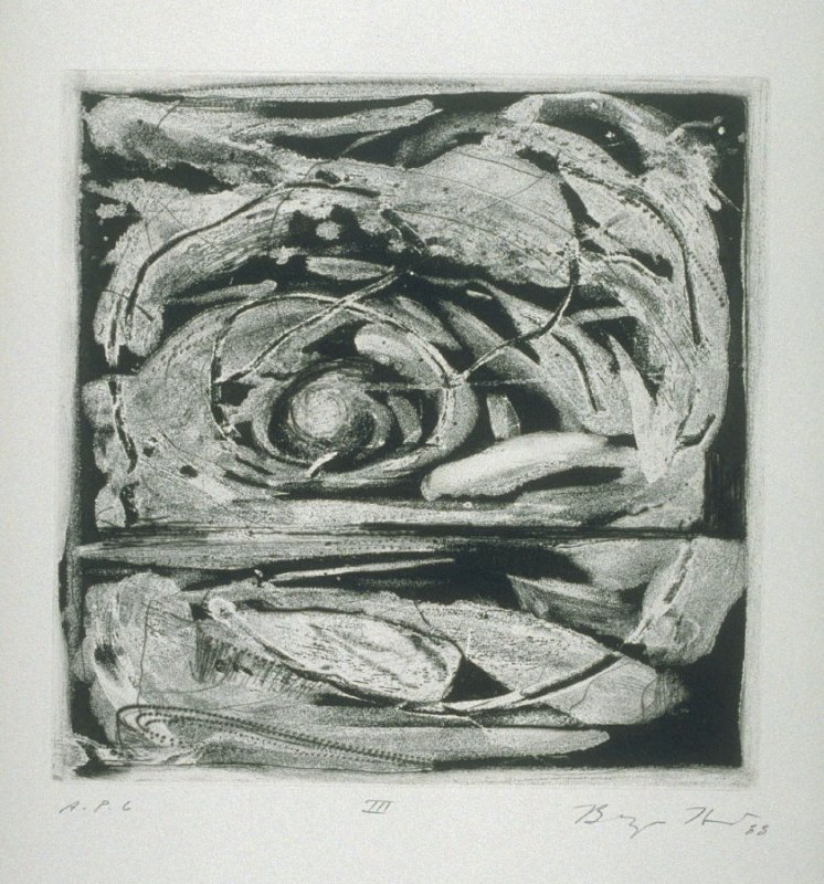 III, plate 3 from the portfolio Five Nights (San Francisco: Crown Point Press, 1988)