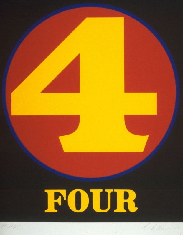 Four from the portfolio Numbers