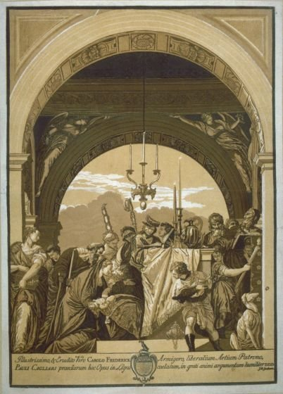 The Presentation in the Temple, from the series 'Opera selectiora'