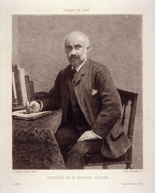 Portrait de M. Adolphe Jullien, published in L'Art