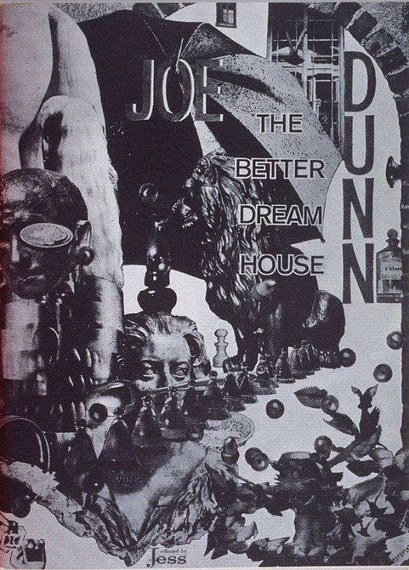 Title page and first image in the book The Better Dream House (White Rabbit Press, 1968)