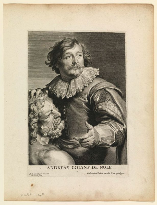 Andreas Colyns de Nole, from The Iconography