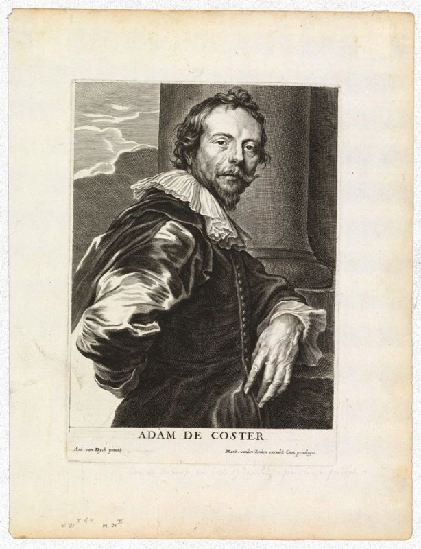 Adam de Coster, from The Iconography