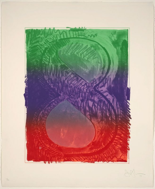 Figure 8, from the Color Numeral Series