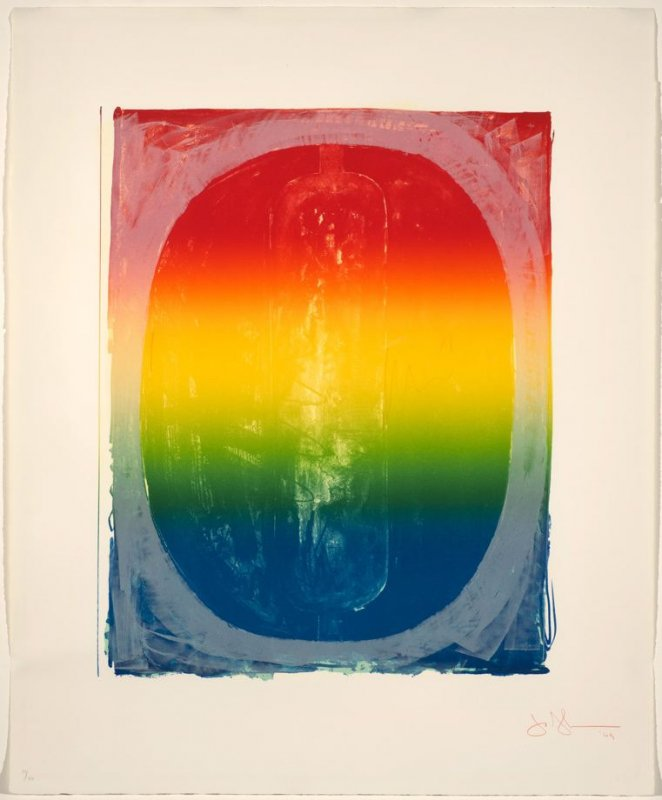 Figure 0, from the Color Numeral Series