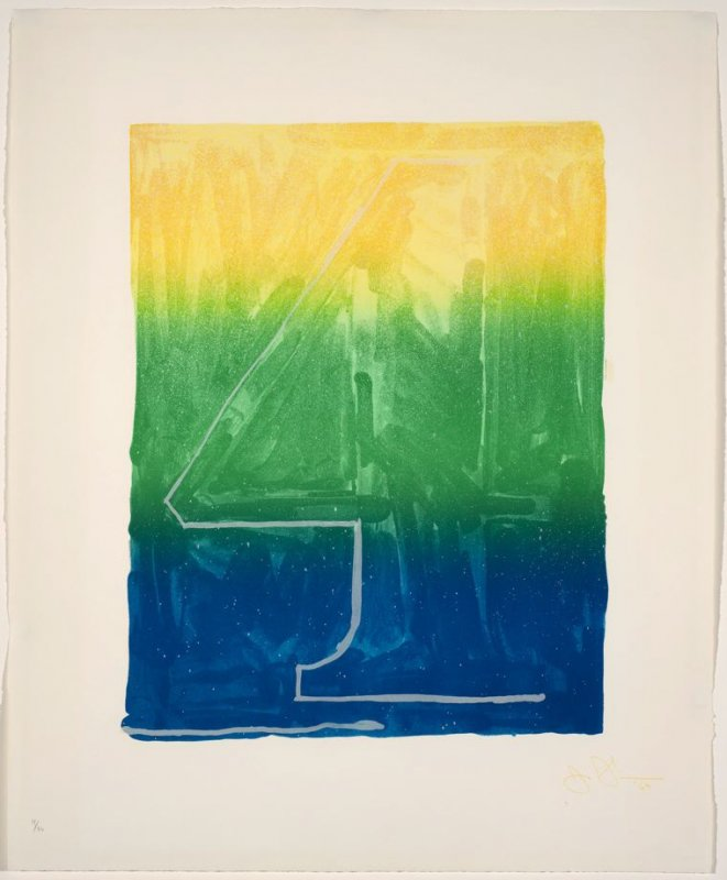 Figure 4, from the Color Numeral Series