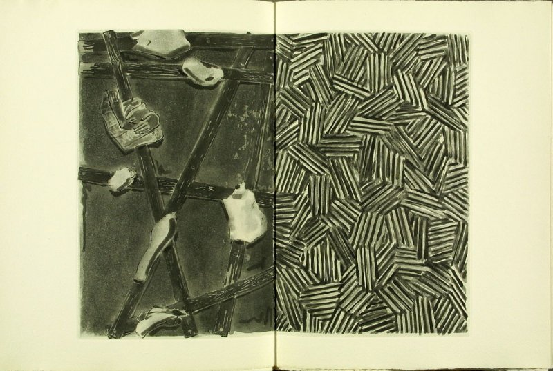 Untitled, illustration 12, in the book Foirades / Fizzles by Samuel Beckett (London and New York: Petersburg Press S. A., 1975-76)