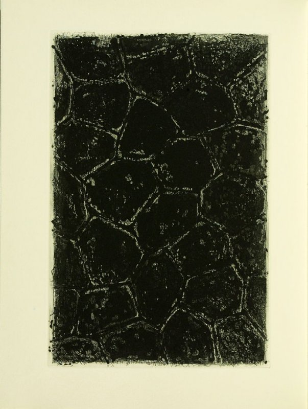 Untitled, illustration 15, in the book Foirades / Fizzles by Samuel Beckett (London and New York: Petersburg Press S. A., 1975-76)