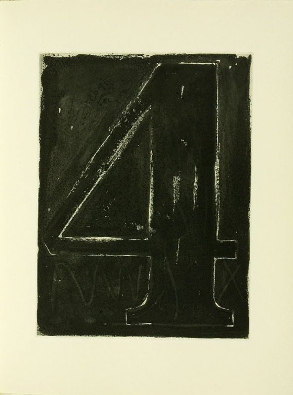 Untitled, illustration 22, in the book Foirades / Fizzles by Samuel Beckett (London and New York: Petersburg Press S. A., 1975-76)