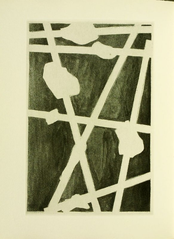 Untitled, illustration 23, in the book Foirades / Fizzles by Samuel Beckett (London and New York: Petersburg Press S. A., 1975-76)