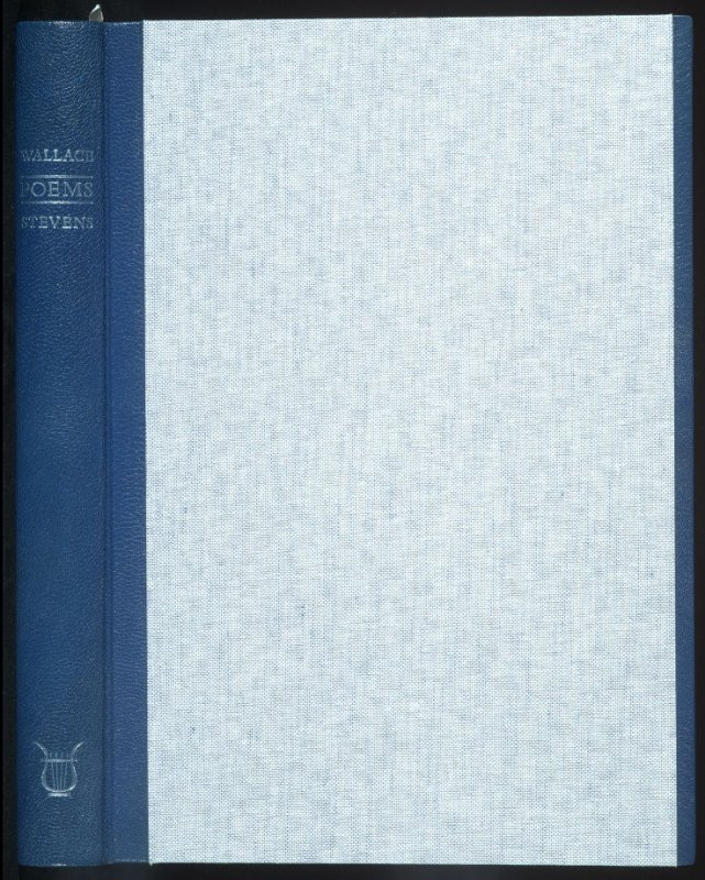 Poems by Wallace Stevens (San Francisco: The Arion Press, 1985)