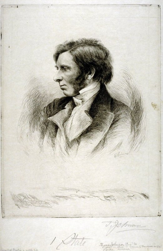 Portrait of Ruskin in Middle Life