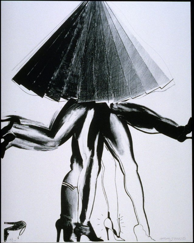 """""""Janet is wearing..."""", plate 8 from the portfolio Eleven Pop Artists, Vol. III"""