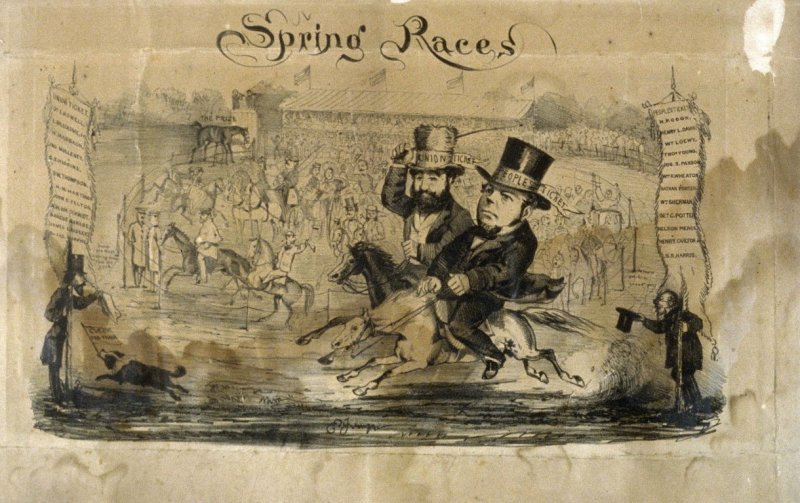 Spring Races or Political Parties - Union Ticket and People's Ticket