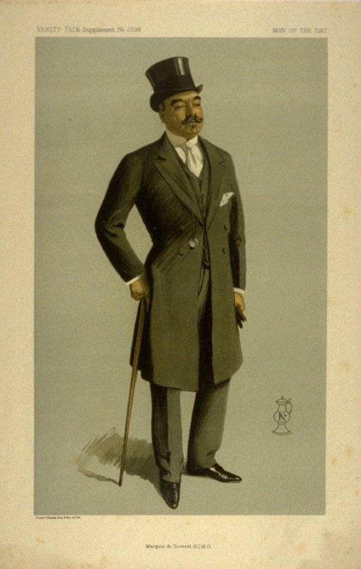 Marquis de Soveral, K.C.M.G., Man of the Day No. 2298, from Vanity Fair Supplement