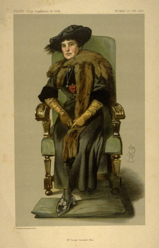 Mrs. George Cornwallis West, Woman of the Day, from Vanity Fair Supplement No. 2299