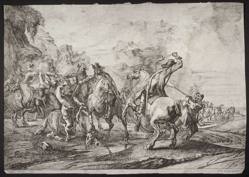 A Cavalry Engagement