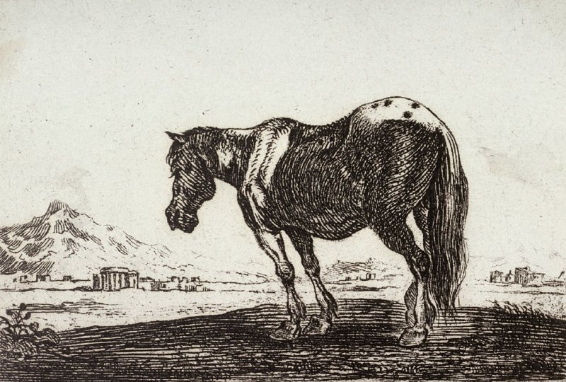[Horse, from] Set of Six Animals
