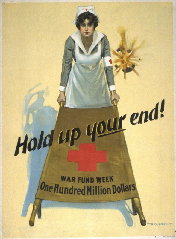 Hold Up Your End - World War I Poster
