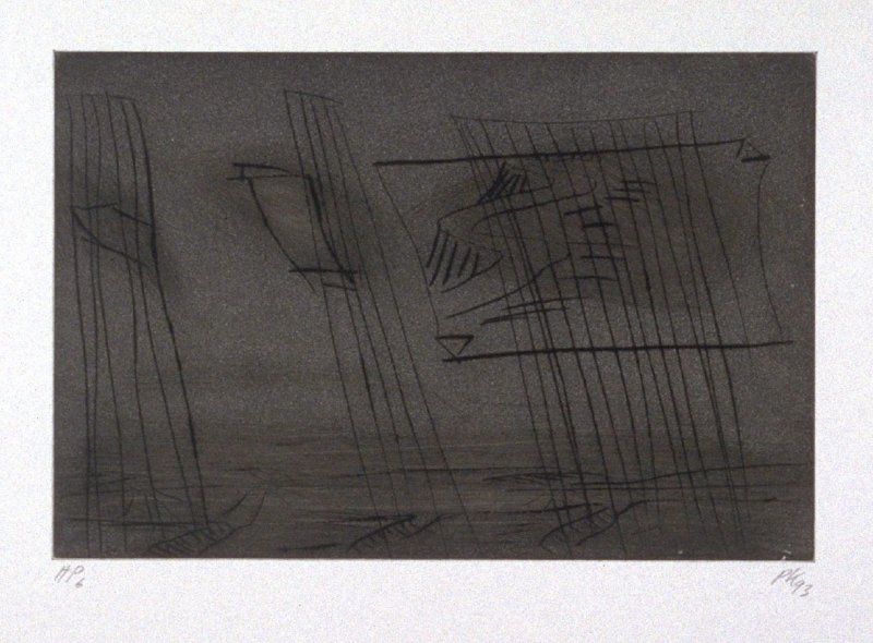 Untitled, plate 18 from the portfolio, Inventory(San Francisco: Crown Point Press, 1993)