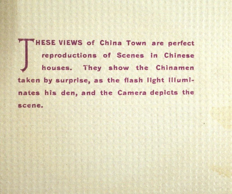 frontispiece, in the album Chinatown, San Francisco