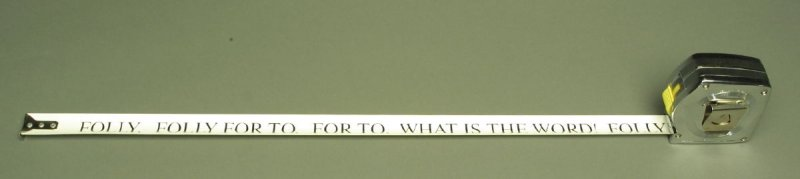 """Text of the poem """"What is the word"""" by Samuel Beckett in the """" book"""" Poetry Lock"""