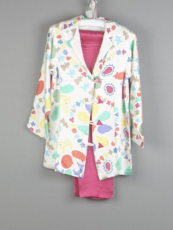 Women's Pajama Set (Jacket and Pants)