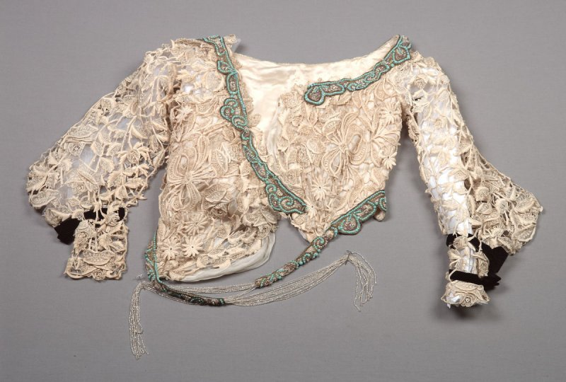 Bodice from woman's evening dress