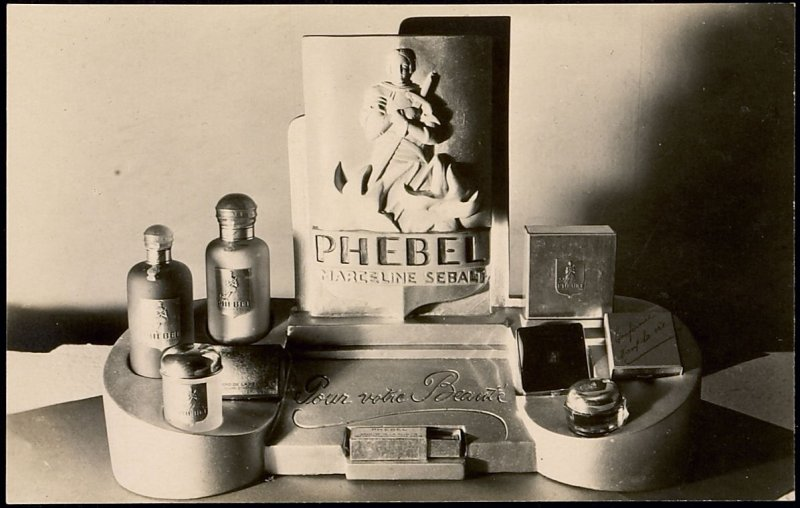 Advertisement for Phebel Perfume by Marceline Sebalt