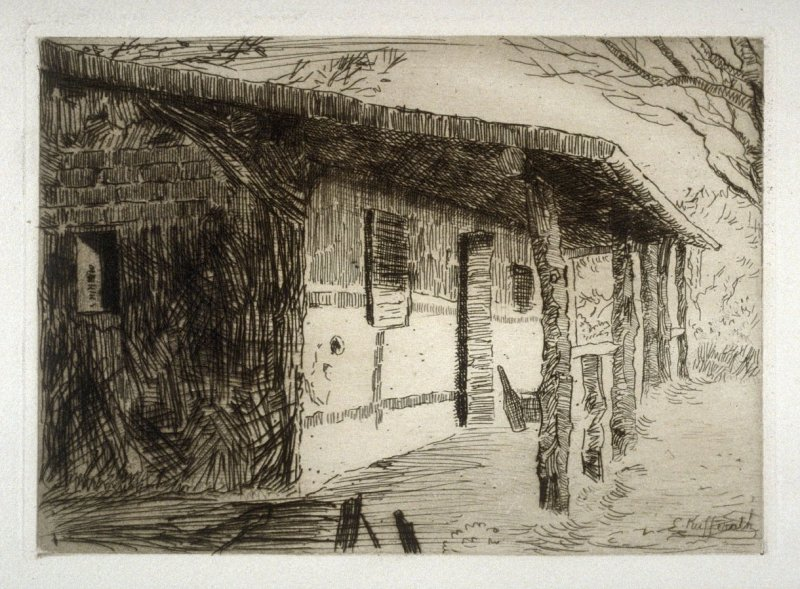 Major General Wm. Johnson's Quarters - #22 in the portfolio Pages of Glory and History, the 91st Division in Argonne and Flanders (Paris, New York, San Francisco: City of Paris, 1920)