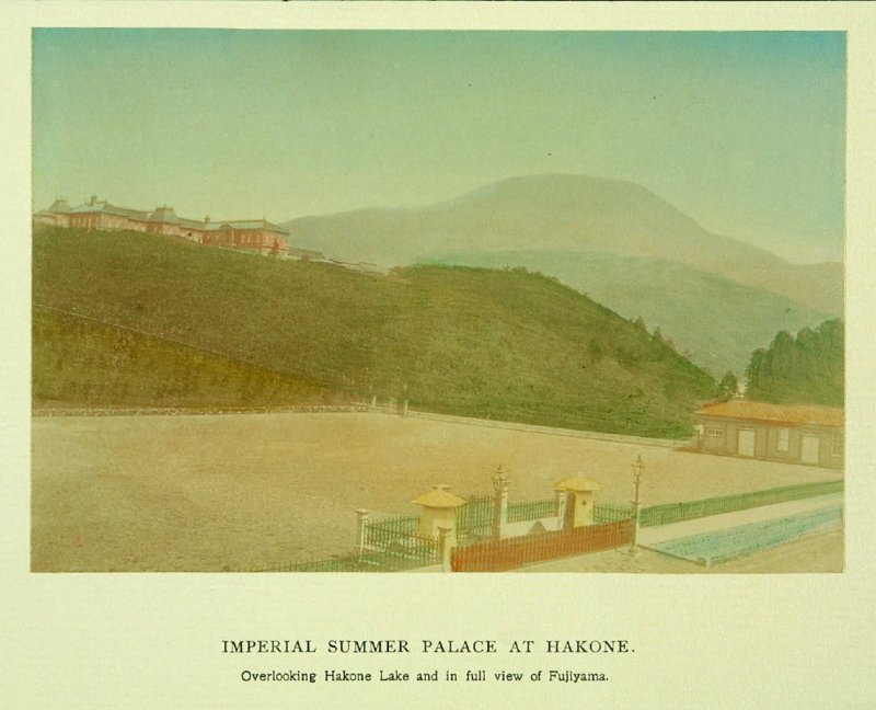 Imperial Summer Palace at Hakone