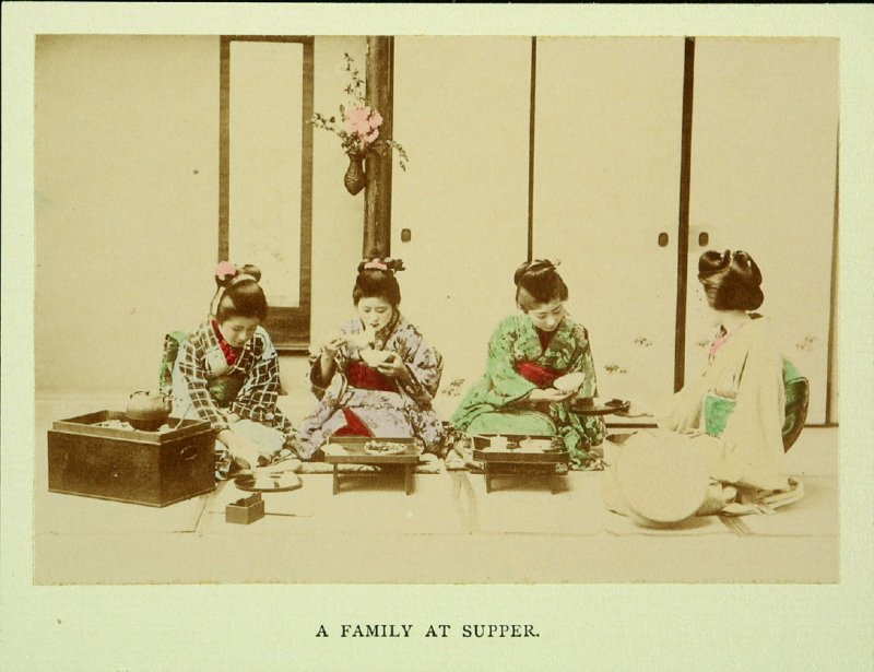 A Family at Supper
