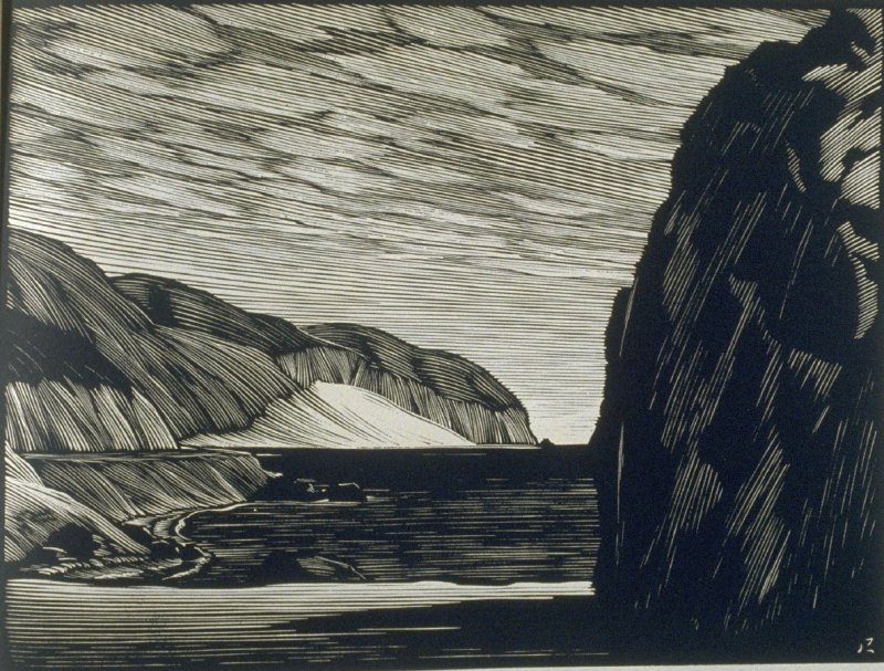Sand Sweep…Point Magu, plate IV in the book, California Hills… (Los Angeles: Bruce McCallister, 1931)