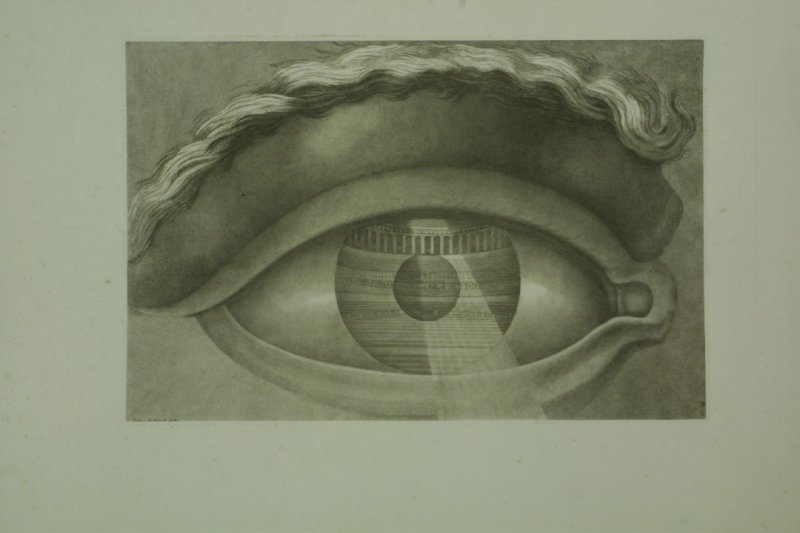 Coup d'Oeil du Theatre de Besançon, plate 13 from the book on Ledoux's Architecture (Eye Reflecting the Interior of the Theater of Besançon)