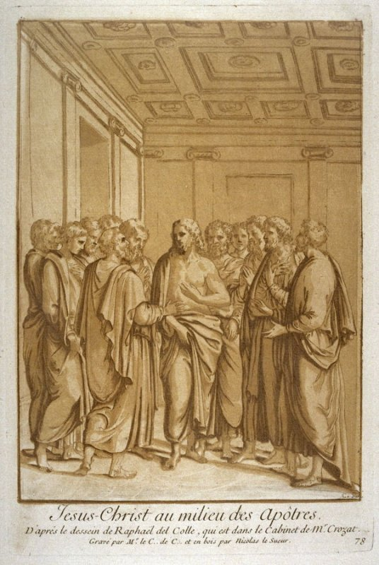 Christ and the Apostles, from the Recueil Crozat