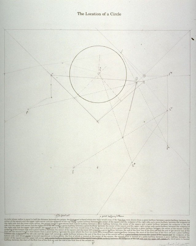 Working proof 1 for The Location of Six Geometric Figures: The Location of a Circle