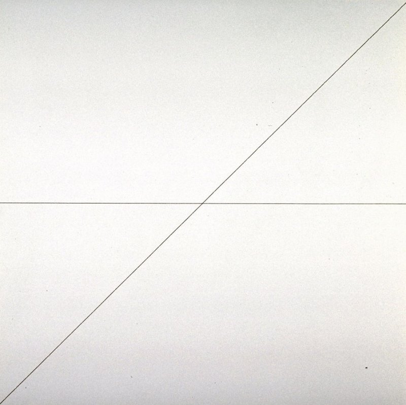 Pl. 5 from the set, Straight Lines in 4 Directions