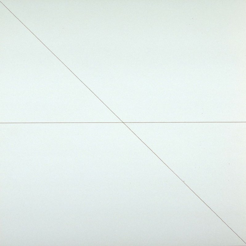 Pl. 6 from the set, Straight Lines in 4 Directions
