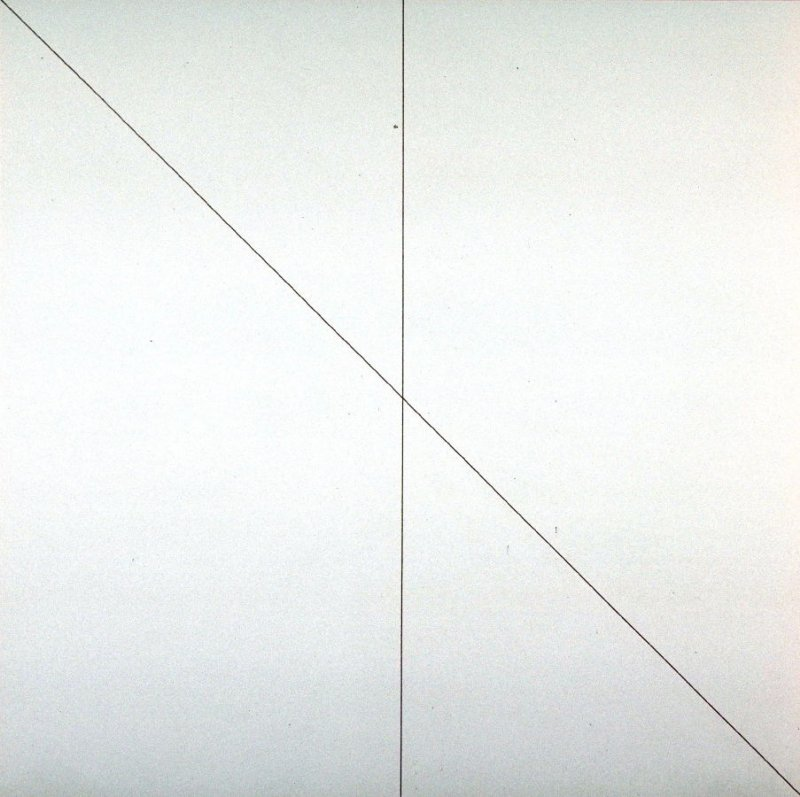 Pl. 8 from the set, Straight Lines in 4 Directions