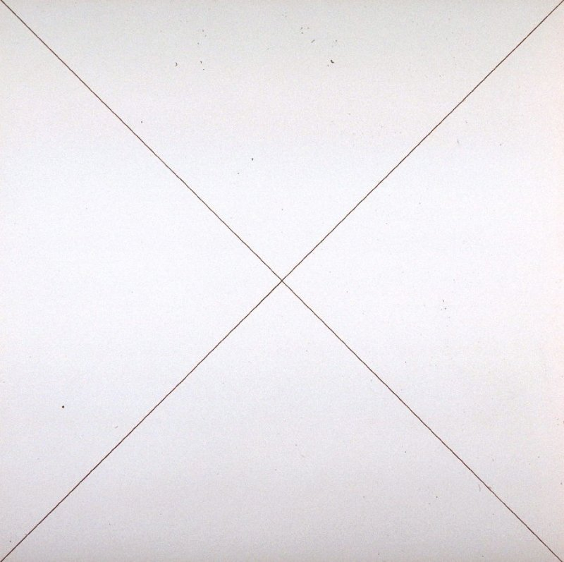 Pl. 9 from the set, Straight Lines in 4 Directions