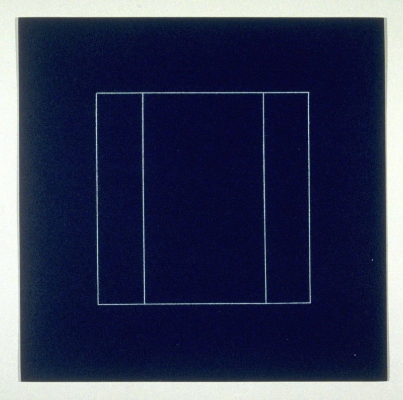 "Untitled, pl. 10, from the portfolio, ""All double combinations (superimposed) of six geometric figures (circle square, triangle, rectangle, trapezoid and parallelogram)"""